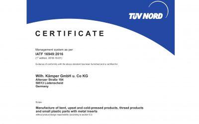 IATF-Certification