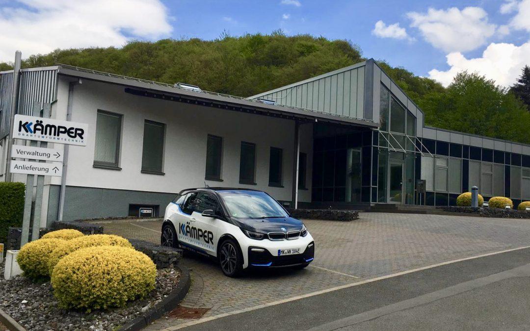 Die Wilh. Kämper GmbH u. Co KG ist jetzt elektrisch unterwegs