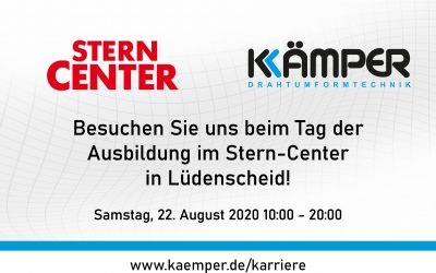 Visit us at the training day at the Stern-Center in Lüdenscheid